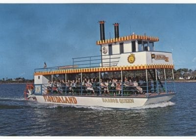 Floridaland Postcard - Harbor Queen