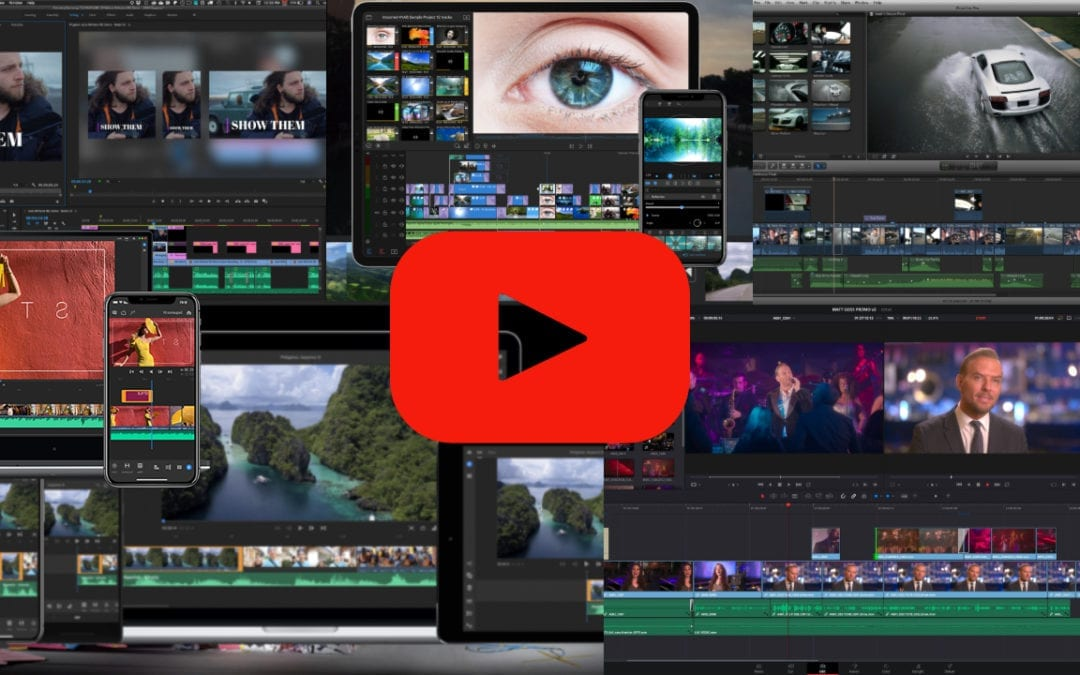 Best Video Editing Software for YouTube [Phones, Tablets, & Computers]