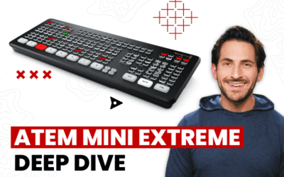 Next Level Live Streaming – The Impressive ATEM Mini Extreme, Web Presenter HD and BMPCC 6K Pro