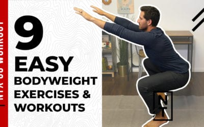 9 Easy Home Bodyweight Exercises and Workouts